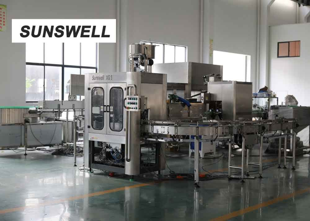 Liquid Level Automatic Control Juice Filling Machine For  Dairy Products