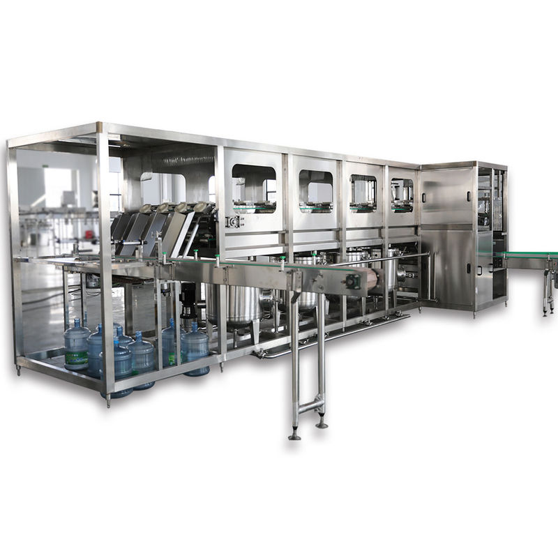 5 - Gallon Bottle Pure / Mineral Water Machine Washing Filling Capping User Friendly