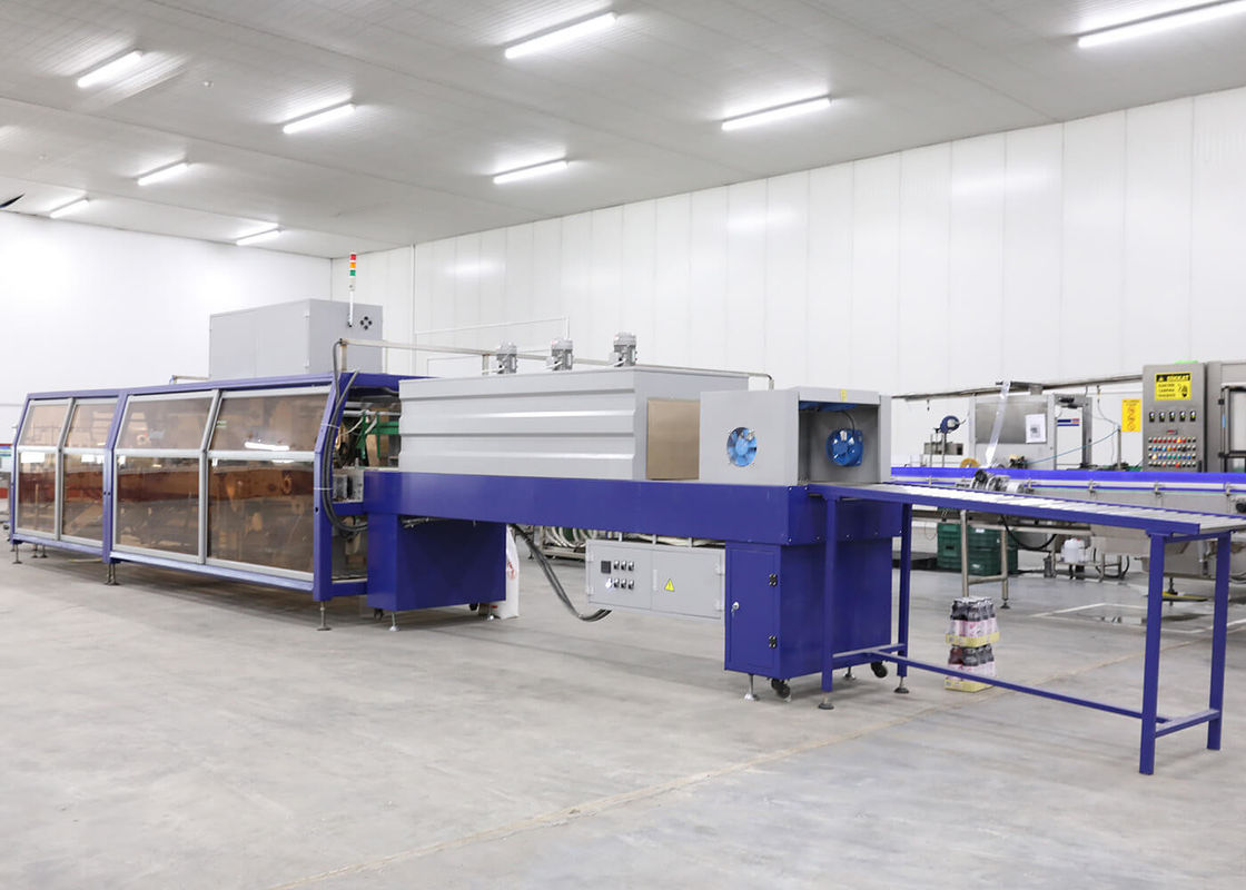 Half Cardboard Tray Heat Shrink Wrap Packaging Machine Full - Automatic