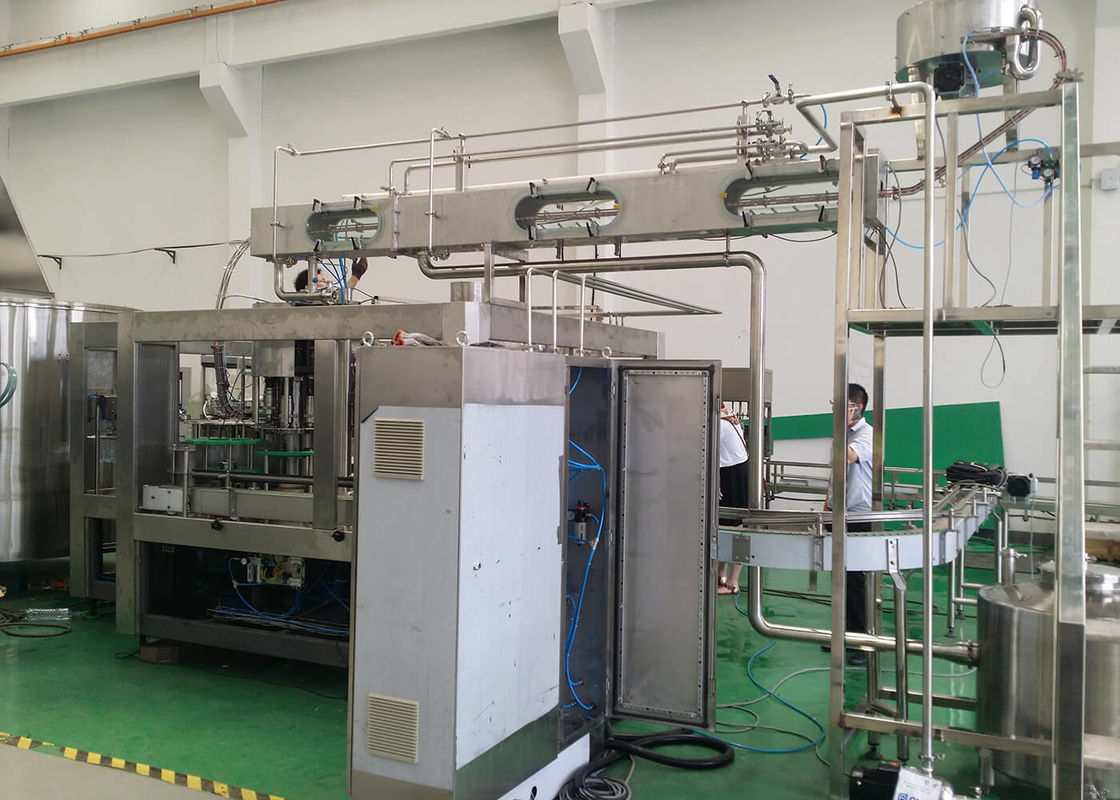 Soda Sparkling Water Cola Sprite Carbonated Filling Machine Soft Drinks Packaging