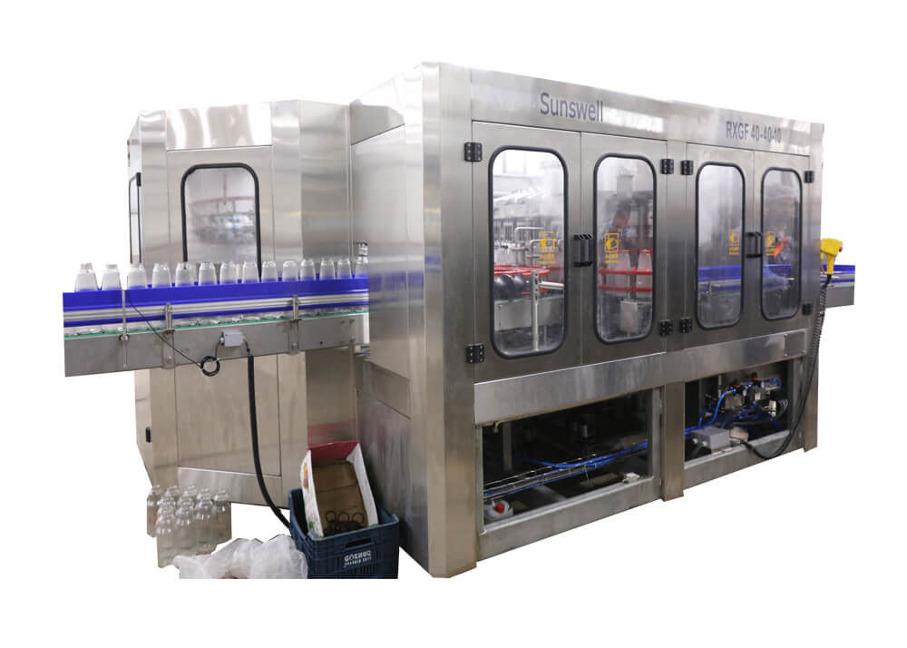 Bottling Beverage Production Line , Juice Filling Packing Plant Long Life Time